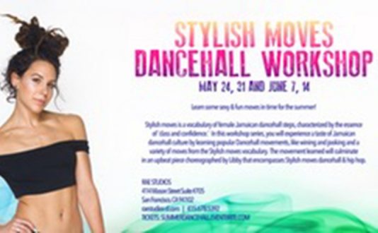Stylish Moves Dancehall Workshop | with Libby Miga at Rae Studios in Union Square, San Francisco