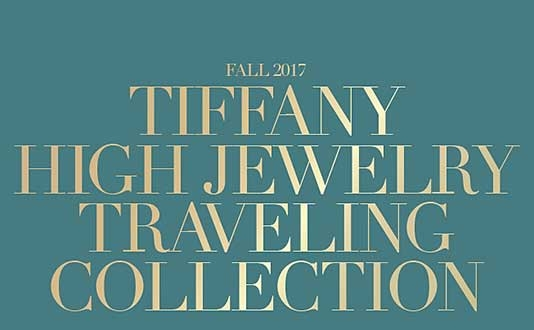 Tiffany High Jewelry Traveling Collection