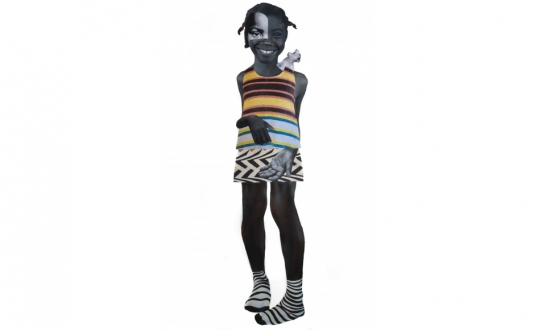 Uninterrupted - Deborah Roberts at Jenkins Johnson Gallery in Union Square, San Francisco