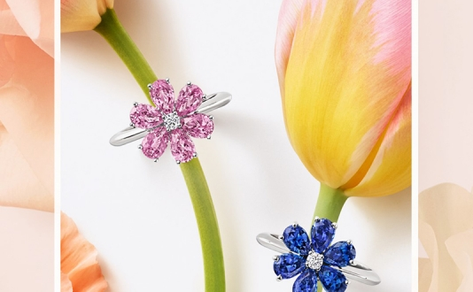 Celebrate Spring at Harry Winston with Winston Bouquet in Union Square, San Francisco