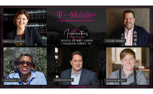T-Mobile San Francisco Signature Series—Innovators in Food & Wine