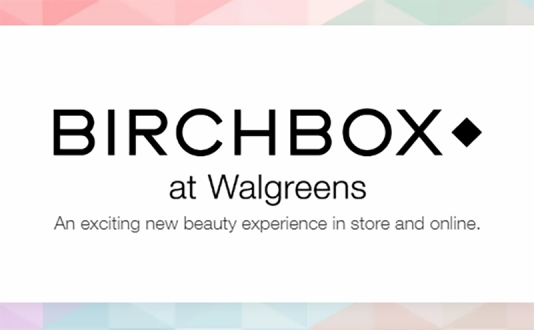 The Birchbox at Walgreens