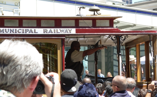54th Annual Cable Car Bell Ringing Contest in Union Square, San Francisco