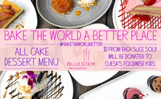 Bake the World a Better Place at Bluestem Brasserie in Union Square, San Francisco