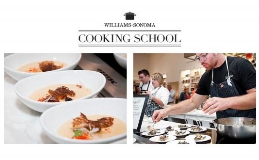 Knife Skills—Beginners at Williams-Sonoma Union Square Cooking School, San Francisco