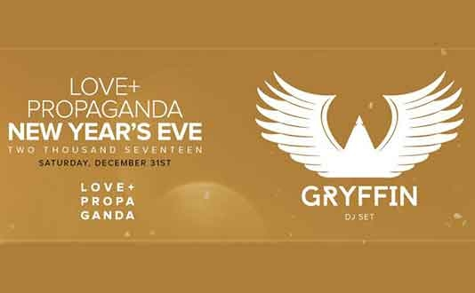 NYE 2017 at Love + Propaganda