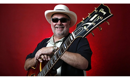 Duke Robillard at Biscuits and Blues in Union Square, San Francisco