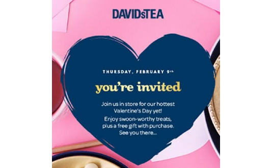 Complimentary Sips And Treats at David's Tea in Westfield San Francisco Centre in Union Square