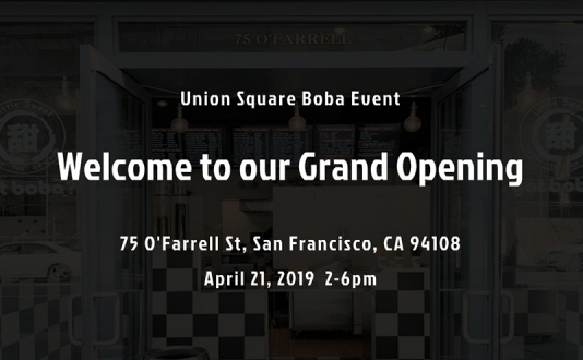 Union Square Boba Event