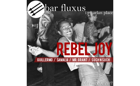 HellaFunny Downtown Comedy Night & Rebel Joy at Bar Fluxus in Union Square, San Francisco