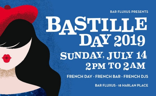 Bastille Day at Bar Fluxus