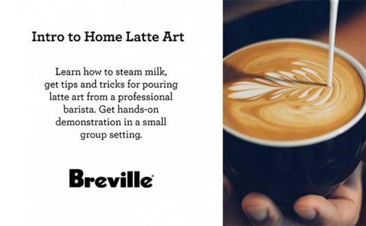 Intro to Latte Art Presented by Breville