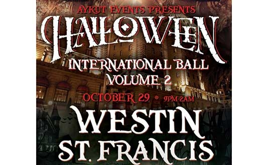 International Ball at the Westin St Francis Hotel