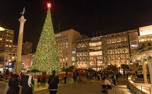 27th Annual Macy's Great Tree Lighting Ceremony | Visit Union ...