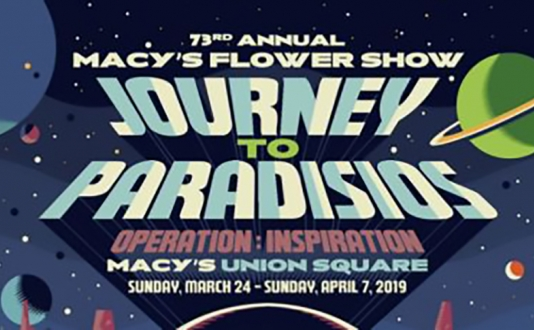 Guided Tour: Macy's Union Square Flower Show