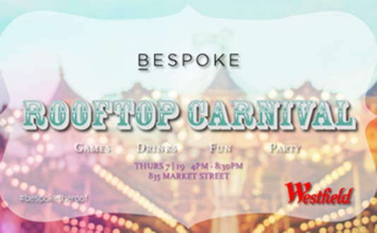 Bespoke's Rooftop Carnival at Westfield San Francisco Centre in Union Square