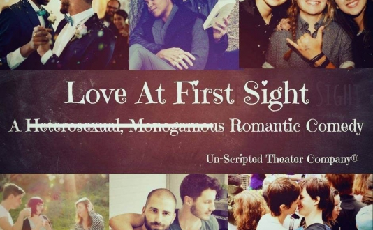 Love at First Sight - a non-traditional, improvised romantic comedy at the Un-Scripted Theater Company in Union Square, San Francisco