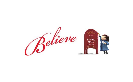 Believe Mailbox - Letters for Santa at Macy's in Union Square, San Francisco