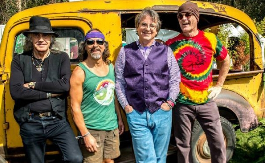 Moonalice at Union Square Park in San Francisco