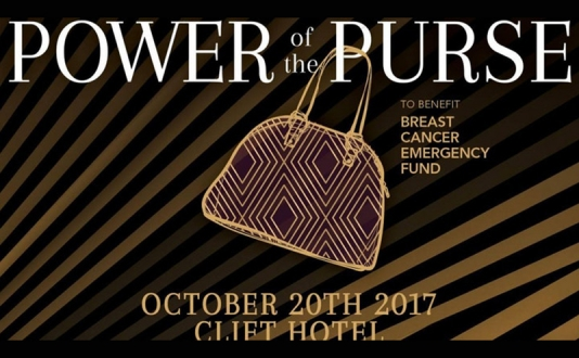 13th Annual Power of the Purse at the Redwood Room at the Clift Hotel in Union Square, San Francisco