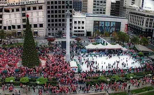 SantaCon is Coming to Town into Union Square, San Francisco