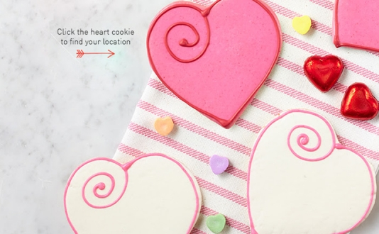 Valentine's Iced Cookies Now Available!
