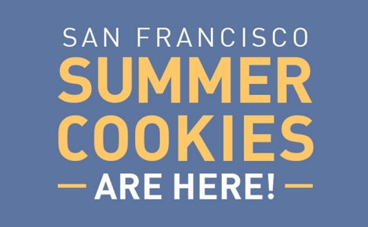 San Francisco Summer Cookies Are Here!