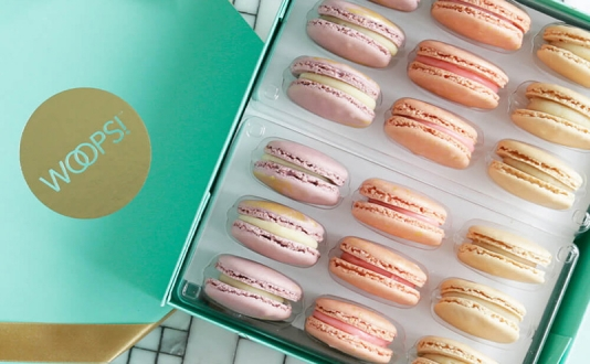 Whoops! French Macaroon Pop-up