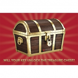 NO PURCHASE NEEDED: Unlock The Treasure Chest In Men's at Macy's in Union Square, San Francisco