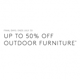 Up to 50% Off Outdoor Furniture