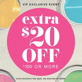 Extra $20 off $100 or more coupon at Aerosoles in Union Square, San Francisco