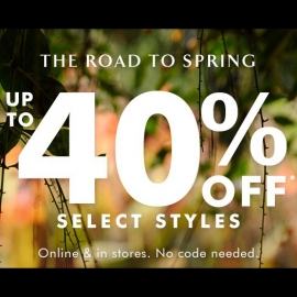 Up to Extra 40% OFF! at Banana Republic in Union Square, San Francisco