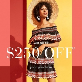 Celebrate Spring - $250 OFF $1000 (Code: BLOSSOM) at Saks Fifth Avenue in Union Square, San Francisco