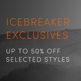 Ice Breaker Exclusive: Up to 55% OFF Selected Styles at icebreaker in Union Square San Francisco