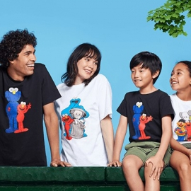 UNIQLO Kaws X Sesame Street Online Sale! in Union Square, San Francisco