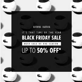 Lacoste Black Friday Deals