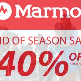 End of Season Sale - 40% OFF at Marmot Union Square, San Francisco