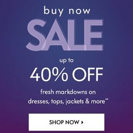 Fresh Markdowns Up to 40% OFF at Neiman Marcus in Union Square, San Francisco