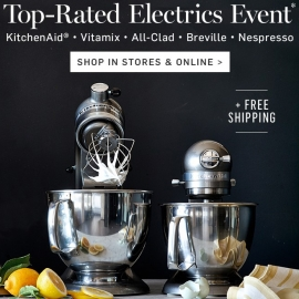 Up to 50% OFF Top Rated Electronics! at Williams-Sonoma in Union Square, San Francisco
