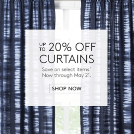 Up to 20% OFF Curtains (Hardwares, too!) in Union Square, San Francisco