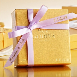 Buy 5 Get 1 FREE Wedding Favors or save 15% OFF $200 at Godiva at Westfield San Francisco Centre in Union Square, San Francisco