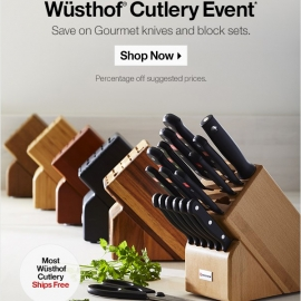 Up to 60% OFF Wüsthof Cutlery Event