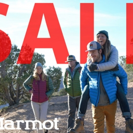 Marmot 4th of July Sale in Union Square, San Francisco