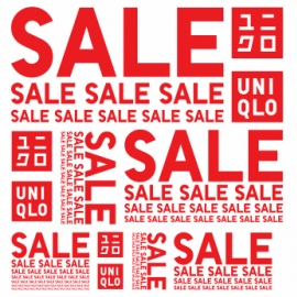 UNIQLO Seasonal Sales of up to 90% OFF! in Union Square, San Francisco