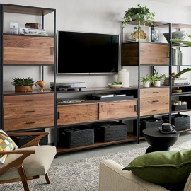 Up to 25% OFF Modular Storage SALE at Crate and Barrel in Union Square, San Francisco