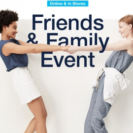 GAP Family & Friends Event: 40% OFF All Items (Code: FRIEND)