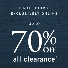 Up to 70% OFF All Clearance