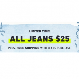 All Jeans $25.00