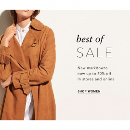 Best of Sales: markdowns up to 60% off at VINCE in Union Square, San Francisco