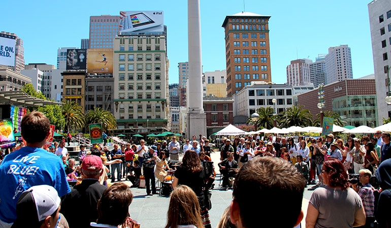 Events in Union Square SF